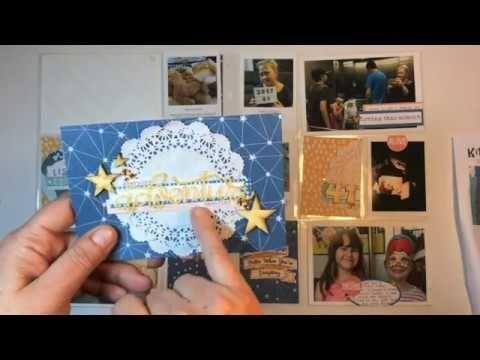 Kitaholic Kits - June - Project life process Video with Deb
