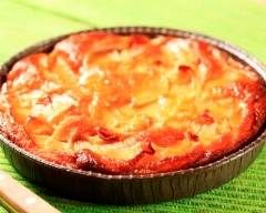 Clafoutis pommes, poires et miel (facile, rapide) - Une recette CuisineAZ