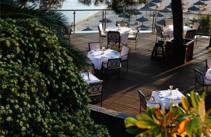Kamares Restaurant: Does it looki like a dream?? It's true..