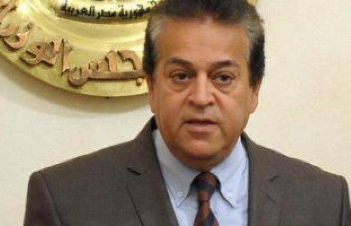 اخبار مصر وزير التعليم العالى يتلقى تقريرا حول استعدادات الوزارة لتنظيم يوم الشباب الإفريقى Egypt News Breaking News