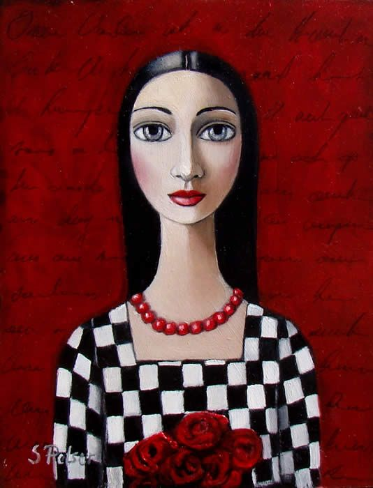 by Sandra Pelser was born in Gauging, South Africa on 4 September 1963. Sandra started painting as a hobby in 1992 now she paints full-time.