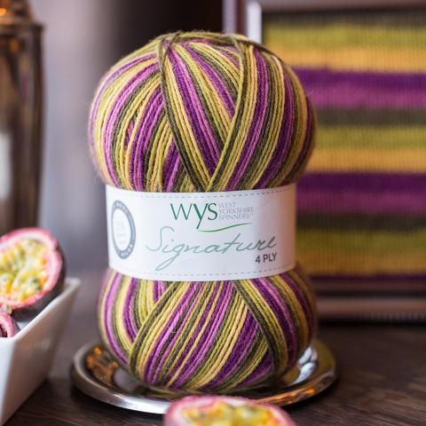 West Yorkshire Spinners Signature 4ply Passionfruit Cooler - 4ply Knitting Yarn