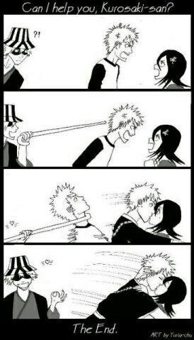 Hahaha, Urahara I appreciate you!lol IchiRuki