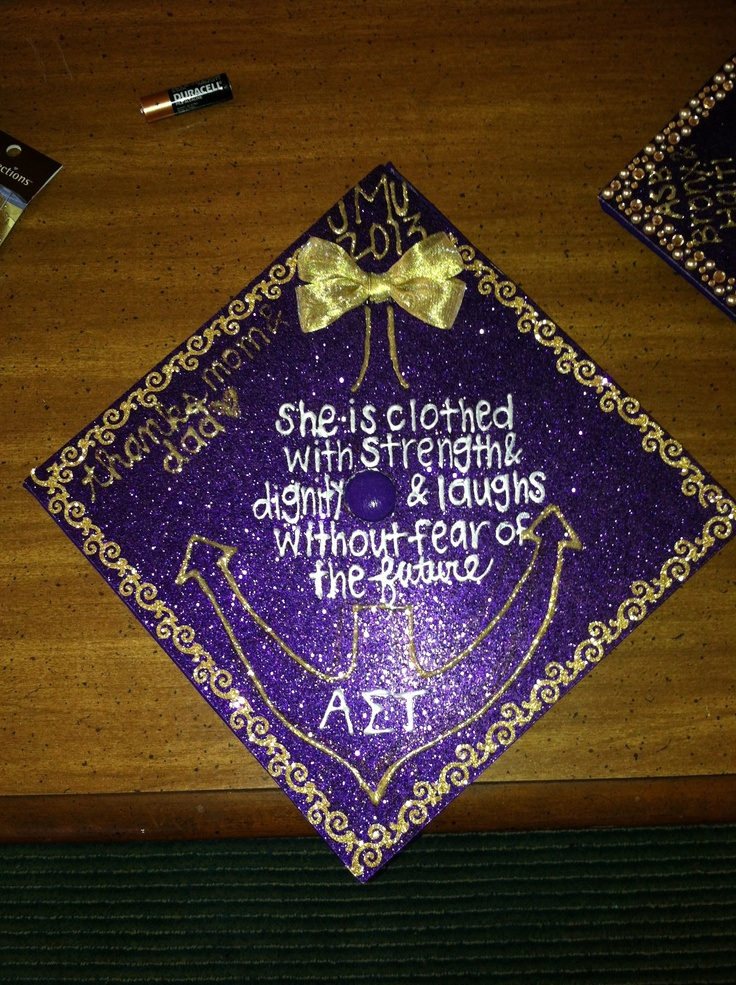 astjmu grad cap decorated graduation - Graduation Caps Decorated
