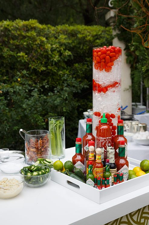 Wedding Food, Wedding Food Ideas, Wedding Reception Food Ideas, Buffet Food || Colin Cowie Weddings