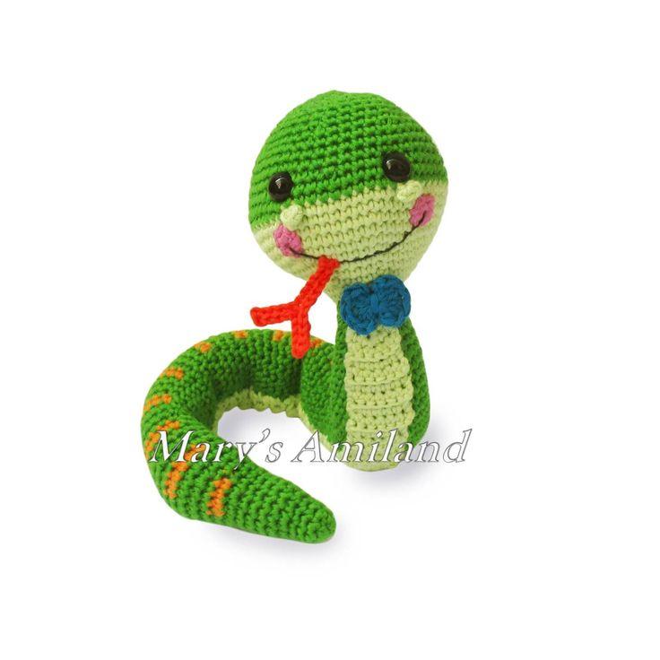 Tommy Snake The Ami - Amigurumi crochet | Craftsy