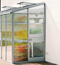 Modell BUT Tiefe 83 cm Anlehnhaus Typ Allgäu BUT Wintergärten / Anlehnhäuser Shop - Beckmann KG - Ihr Spezialist für Gewächshaus und Gartenartikel
