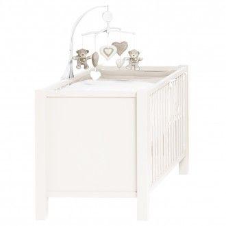 Joy Convertible Bed 70x140cm - White - Quax - Furniture | MyLittleRoom