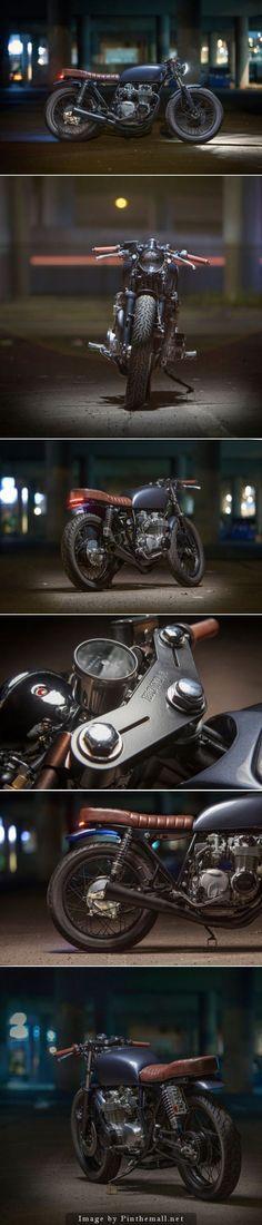Awesome Honda 2017: For Motorcycle fans: Backyard build: Dave Lehl's Honda CB550 Toys