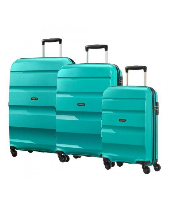 American Tourister | Bon Air | Spinner-Set 3-tlg. | türkis | #Reisegepäck #Koffer