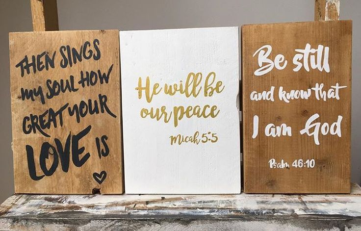 Okay I am super excited because these 3 are available in church tomorrow! Handmade, reclaimed wooden signs by Signed, picked by you! So run to the Resource Area tomorrow @HillsongAMS or @hillsongrotterdam to get yourself one of these. And while you enjoy these words of Truth, 10% of the sales revenue will be donated to @A21. #sharethelove @SignedNL #reclaimedwood #handmade #madeinholland #signednl