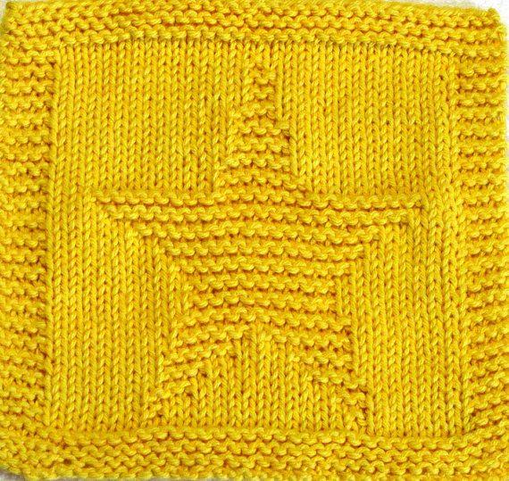 Knitting Pattern de chiffon - peu STAR - PDF                                                                                                                                                                                 Plus