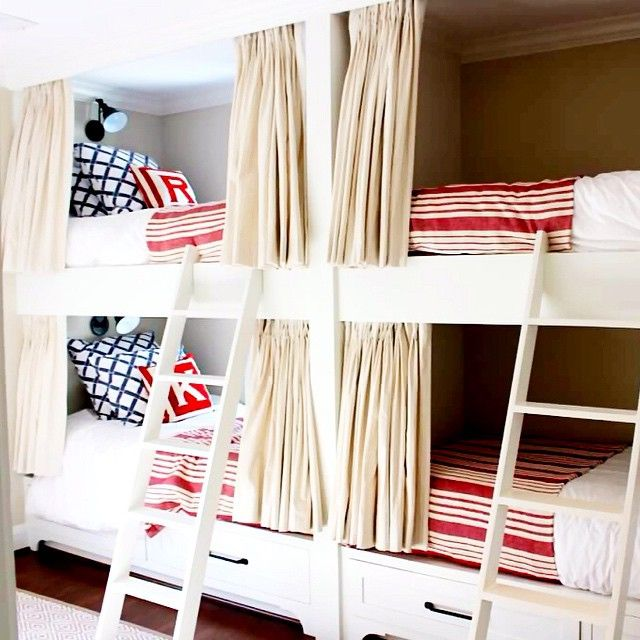 High Quality Great Built In Bunk Beds In Our Featured Houston Home Of