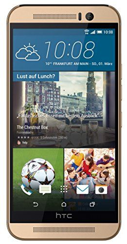 HTC One (M9) - gold on silver - 4G HSPA+ - 32 GB - GSM - Android Phone - http://www.computerlaptoprepairsyork.co.uk/mobile-phones/htc-one-m9-gold-on-silver-4g-hspa-32-gb-gsm-android-phone