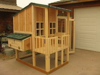 Chicken coop plan & material list, The Little Coop On The Prairie