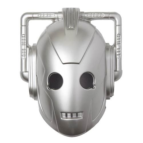 Doctor Who Halloween Cyberman Mask