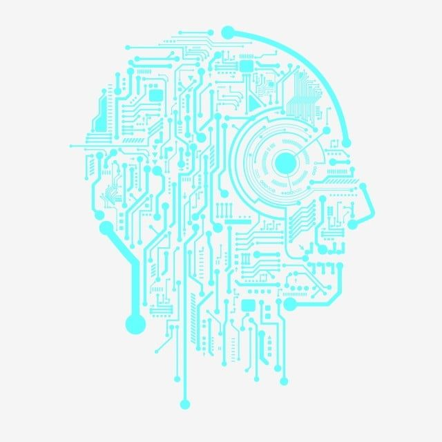 Artificial Intelligence Technology Touching The Brain Artificial Intelligence Technological Sense Circuit Board Png And Vector With Transparent Background Fo Digital Graphics Art Artificial Intelligence Technology Vector Icons Free