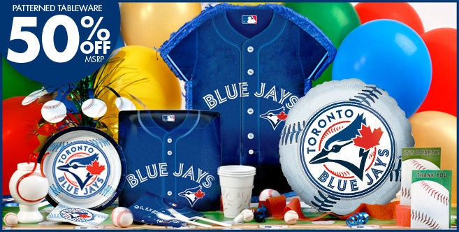 Toronto Blue Jays Party Supplies - Party City