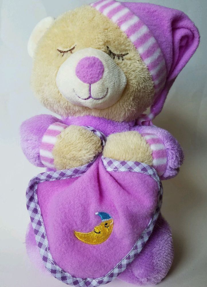"HUGFUN Stuffed Plush Bear Plays ""Now I Lay Me Down To Sleep"" Bedtime Prayer    Toys & Hobbies, Stuffed Animals, Other Stuffed Animals   eBay!"