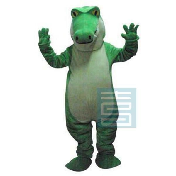 Crocodile Mascot Costume Suit Animal Cosplay Party Fancy Dress Outfit Adult Size