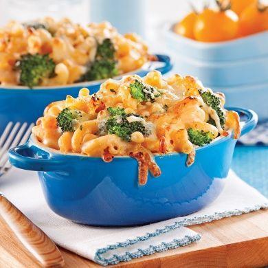Un macaroni au fromage gratiné à moins de 400 calories? Wow! Vous ne pourrez plus vous en passer!