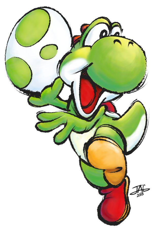 Yoshi by JAG-Comics.deviantart.com on @deviantART