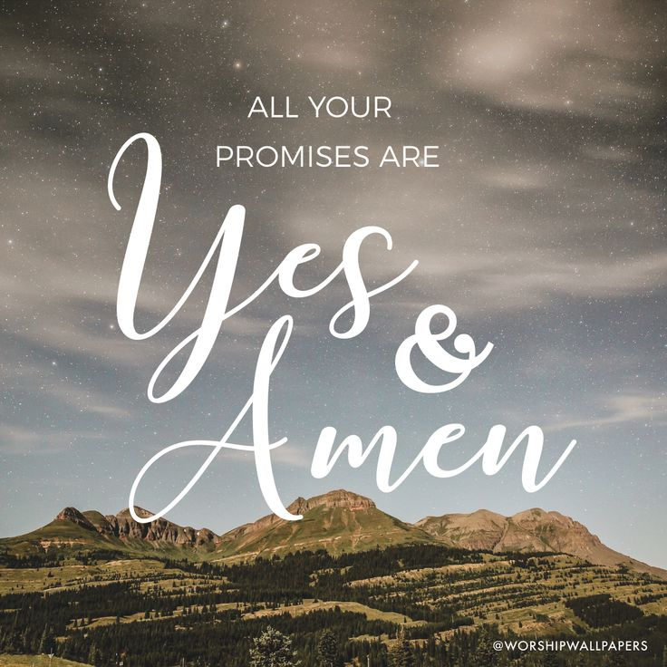 """Yes and Amen"" by Housefires // Instagram format // Like us on Facebook www.facebook.com/worshipwallpapers // Follow us on Instagram @worshipwallpapers"