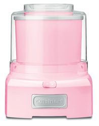 For family: Ice Cream Makers » Cuisinart Ice Cream Maker Pink - Chef's Complements