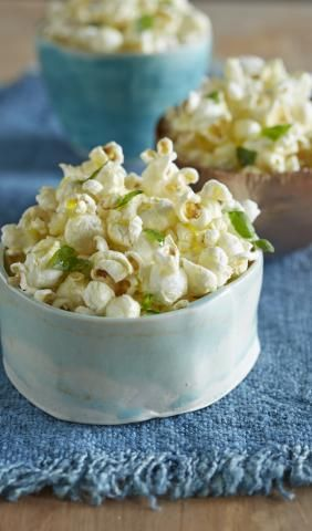 Your guests will love these sweet and savory upgrades to this movie theater classic. All recipes serve four to six people.(Excerpted from Party Popcorn: 75 Creative Recipes for Everyone's Favorite Snack. Reproduced by permission of Houghton Mifflin Harcourt. All rights reserved.)