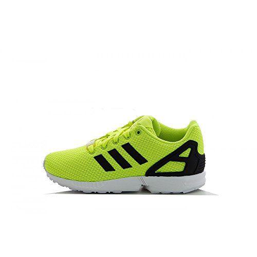 Adidas Zx Flux K Scarpe per bambini, Ragazzo, Multicolore (Solar Yellow/Core Black/Ftwr White), Taglia 38 adidas http://www.amazon.it/dp/B00LOOE3UY/ref=cm_sw_r_pi_dp_oPKWvb1JVWE6D