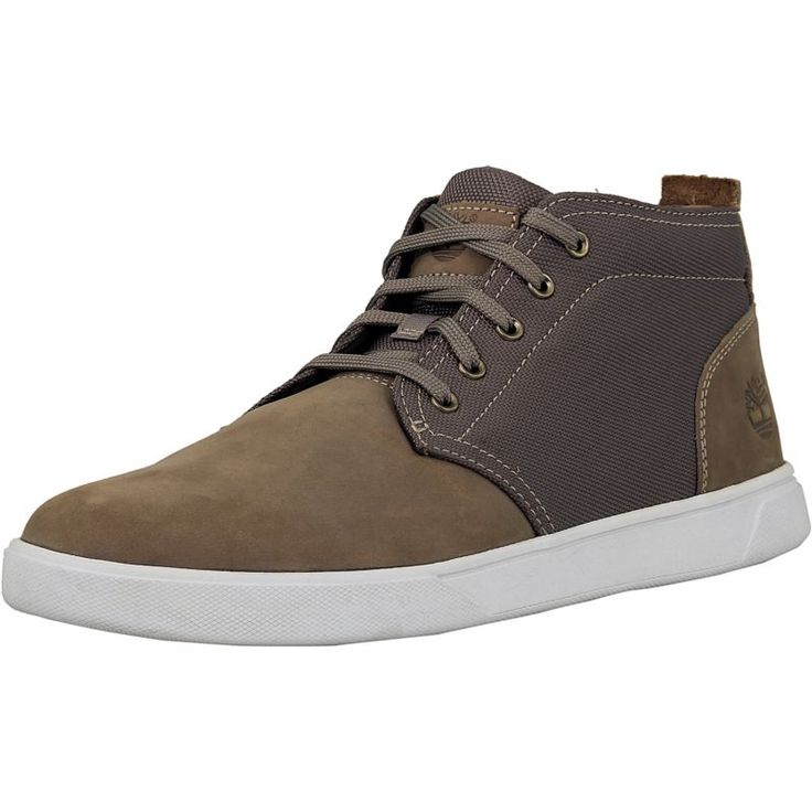Timberland Men's Groveton Leather And Textile Chukka Ankle-High Fashion  Sneaker #ankle #high