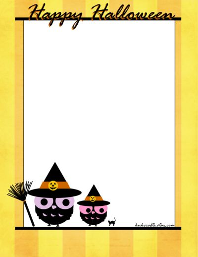 Halloween Stationery Owl Knkcrafts Happy Halloween Stationery By Niongi Halloween Stationery In 2018 Pinterest Halloween Happy Halloween And