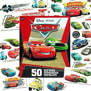 amazoncom disney cars temporary tattoos party favor set temporary tattoos juegos para y