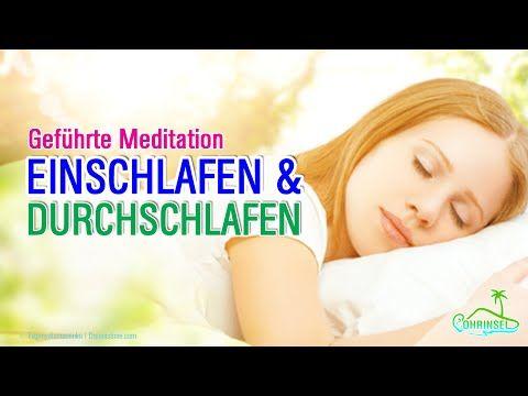 Meditation, Hypnose zum Einschlafen und Durchschlafen   60 Minuten - YouTube