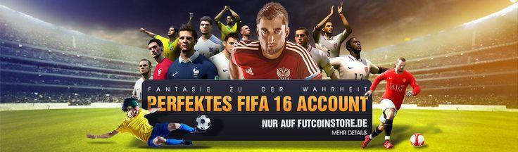 Kaufen FIFA 16 account, fifa 16 Münzen und fifa 16 Konto, Fut Coins, FIFA Coins, Günstige Fifa Münzen mit sofortiger Lieferung. Der renommierteste Speicher für PC, PS3, PS4 und Xbox 360, Xbox One, Android Fifa Ultimate Team Münzen, 24/7 Service und Safe 100% Garantie! #Fifa_16_Münzen