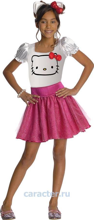 Карнавальные костюмы :: Костюмы для девочек :: Персонажи ТВ и Кино :: HELLO KITTY :: Костюм HELLO KITTY -