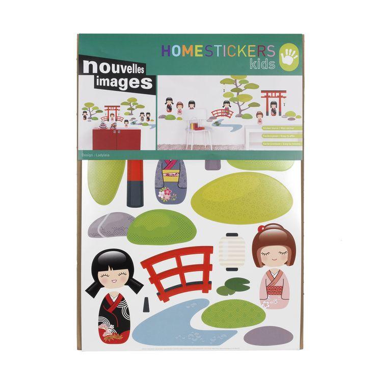 Stickers pour enfant Multi Colore - Jardin - Stickers pour chambre enfants - Décoration pour enfant - Univers des enfants - Décoration d'intérieur - Alinéa