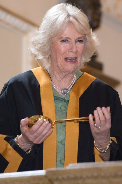 Camilla Parker Bowles Photos Photos - Camilla, Duchess of Cornwall is installed as an Honorary Liveryman of The Worshipful company of plumbers in the City of London on January 26, 2017 in London, England. - The Duchess of Cornwall Is Installed as an Honorary Liveryman of the Worshipful Company of Plumbers