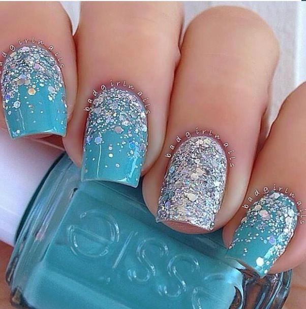 azzurro glitter