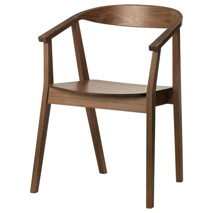 STOCKHOLM Chair - walnut veneer - IKEA