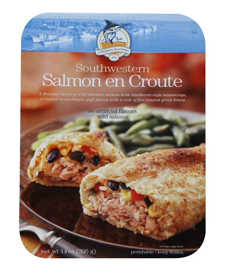 Southwestern Salmon en Croute