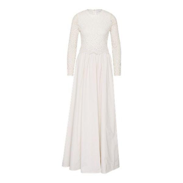 IVY & OAK Bridal Dress 2 in 1 Lace Top long weiß