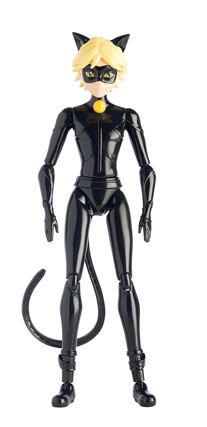 Miraculous 5 5 Inch Cat Noir Action Doll New In Box Noir Miraculous Cat Noir And Ladybug