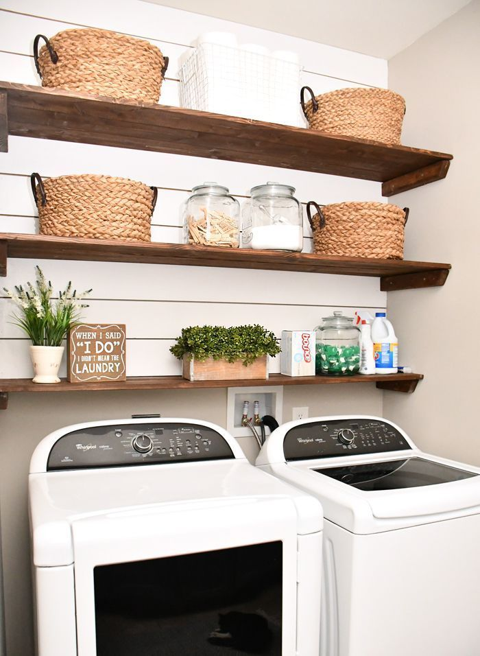 Budget Laundry Room Makeover How To Nest For Less Laundry