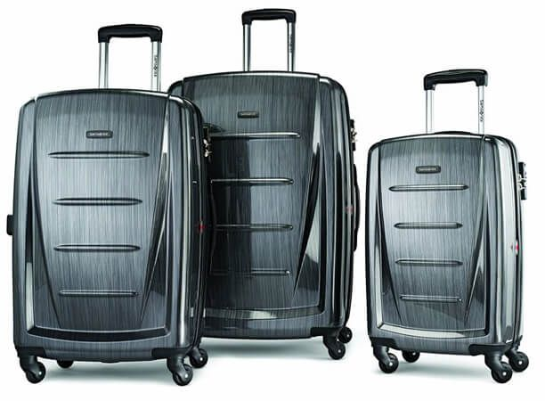 Samsonite Luggage a Winfield 2 Fashion with HS 3 Piece Set
