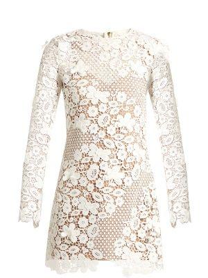 Floral guipure-lace mini dress   Self-portrait   MATCHESFASHION.COM UK