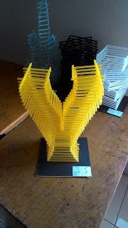 Contoh Nirmana 3D Media Sedotan ( Nirmana 3D Straw ) By : Dona Romdon | Click the website to see more