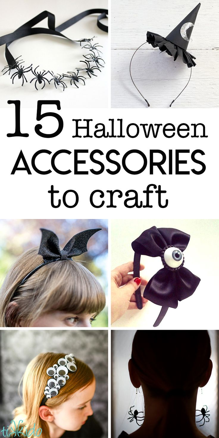 15 halloween accessories to make