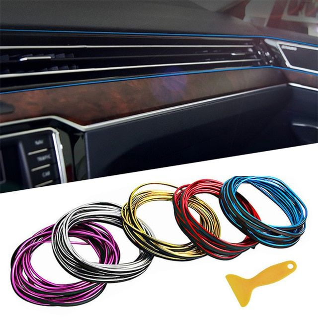 5m Lot Car Accessories Interior Mouldings Parts Auto Tunning Strip