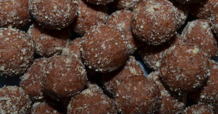 Mlsná máma : Čokoládové pohankové kuličky